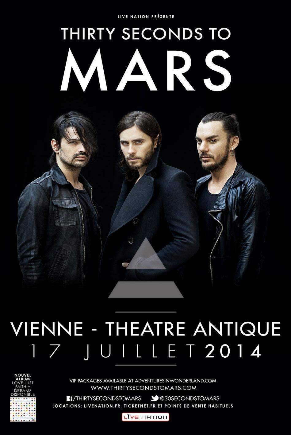 Twitter / LivenationFR: @30SECONDSTOMARS en concert ...