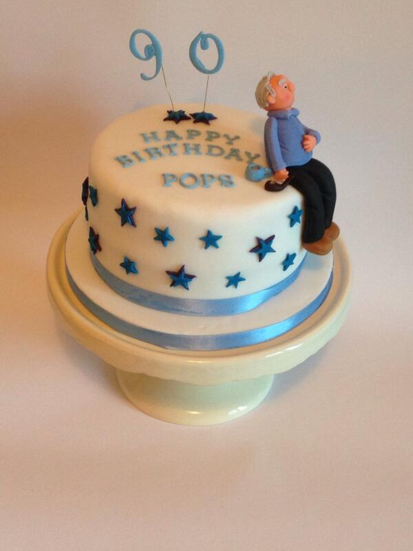 Thecheekycakecompany On Twitter 90th Birthday Cake For A Man Known