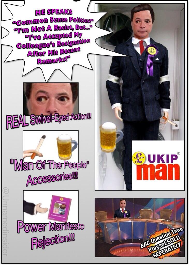 RT @Unnamedinsider: I see #UKIP have released a @Nigel_Farage action figure... http://t.co/Nf9zrlXaRP