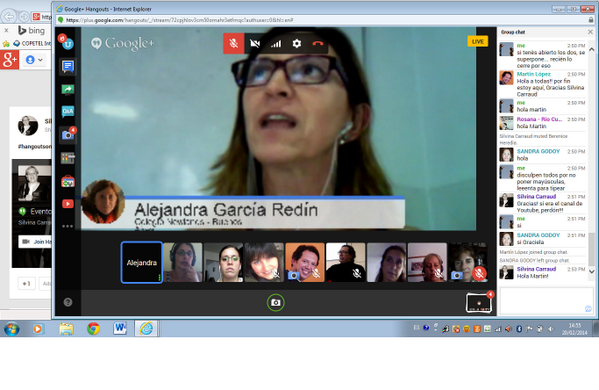 Thumbnail for MOOCafé en Argentina: Hangout 20 febrero 2014