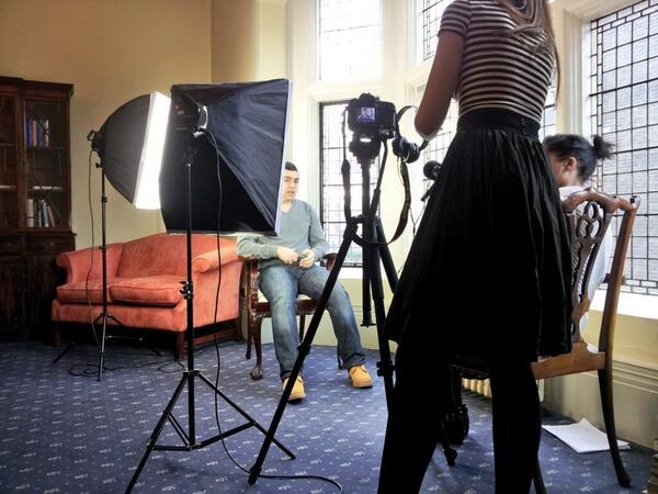Excellent #BCISTARS student volunteers to do an interview for @accessplacement here at BCI. Graduation at 3:30pm :D http://t.co/fWKuXitOUi