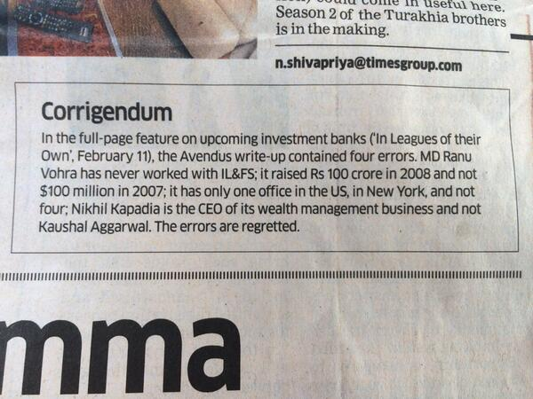 """Hilarious ROFL stuff from Economic Times. Like """"we made up the whole damn article..research? What's that??"""" http://t.co/zbOMvSgX5o"""