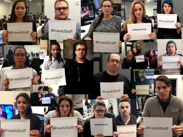 #FreeAJStaff @theonlyarcher  @EGROLL917 @brittanyrtom @amandaruthprice @ajam @istalkski @Repent11 @PeterGreste @aje http://t.co/sCn5VCHpCn