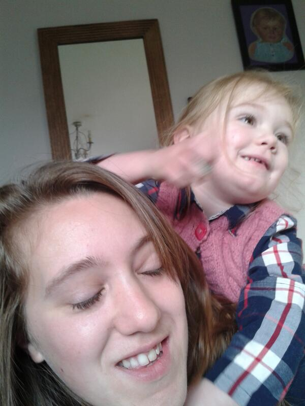 @Gingerbread playfights and cuddles. #singleparentlife http://t.co/foDcBmhteq