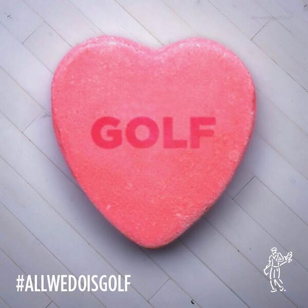 Happy Valentines Day! #AllWeDoIsGolf http://t.co/72VUGMM3LM