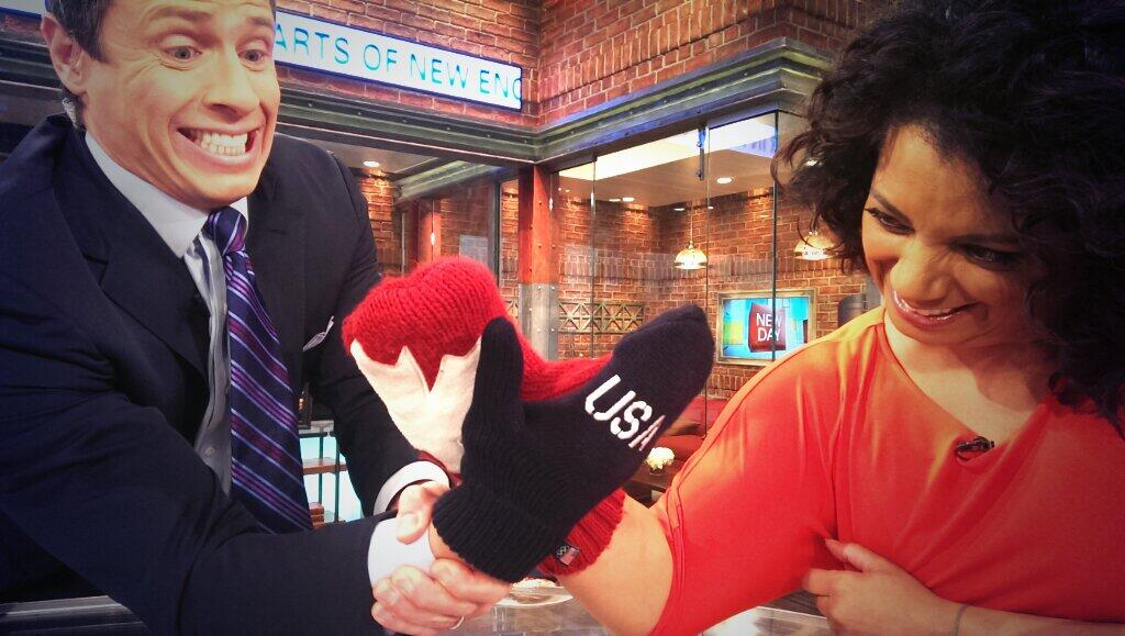 Twitter / ChrisCuomo: Where'd this blast of ...