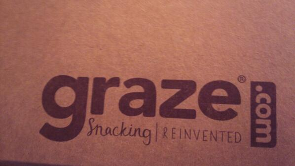 Looking forward to digging in to some yummies today from @grazedotcom #foodies