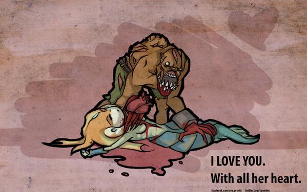 Valentine's doodle. Lifestealer - the love dealer. #DOTA2 #Games #Love #hashtags http://t.co/FXZ7K7FD34