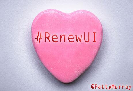 Dear @Senate_GOPs: Have a heart… #RenewUI #WhatWomenNeed #ValentinesDay http://t.co/K2X2vbHtr5