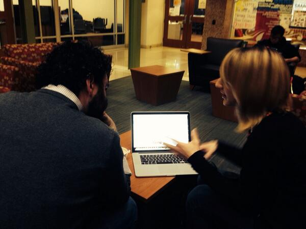 Yes even before #PublishPerish14 @hollybik is hard at work http://t.co/r6MjDimc4g