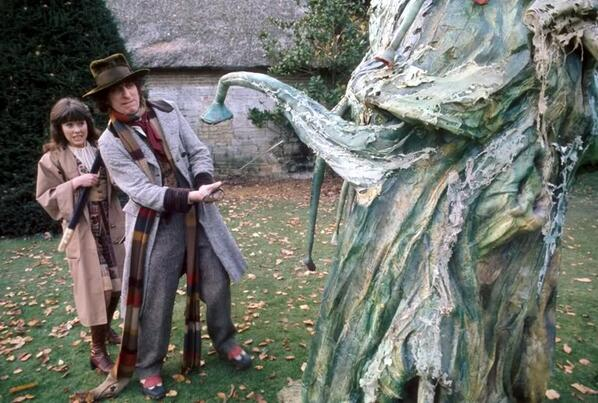 14th February 1976: 'The Seeds of Doom' Part Three was broadcast. What are your thoughts on this serial? #DoctorWho http://t.co/R4JyRlyNJH