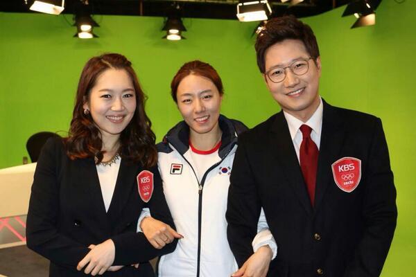 KBS 스튜디오에 찾아온 이상화 선수! http://t.co/GUBs7SEKHT