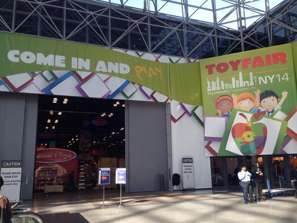 Who's excited for Sunday!? #ToyFair2014 #TFNY http://t.co/8mQXj8UybM