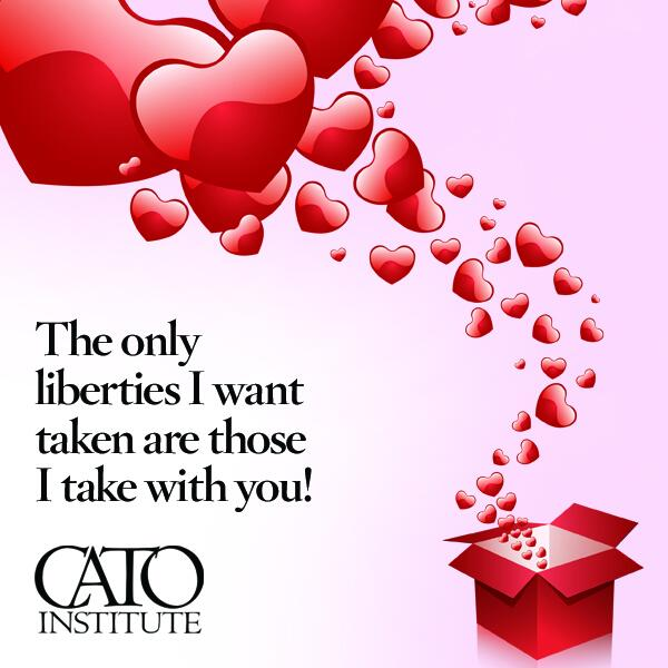 Happy Valentine's Day from the @CatoInstitute. Send your #EndlessLove a liberty valentine: http://t.co/pbn2VMRL34 http://t.co/KMgX5PBNt5