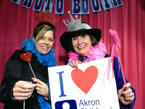 Holly Rubin (L) and Kathy Reid stopped by the #wkddradiothon to show their support. http://t.co/wtH7YCjY8p