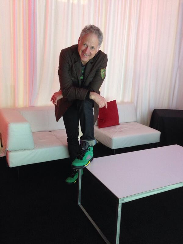 3dcdc2cfb8a7cd So much Swag RT  Jumpman23  The legendary Tinker Hatfield has arrived at  our 316 Magazine St. set up.  TakeFlightNOLApic.twitter.com CNftv6zCaf