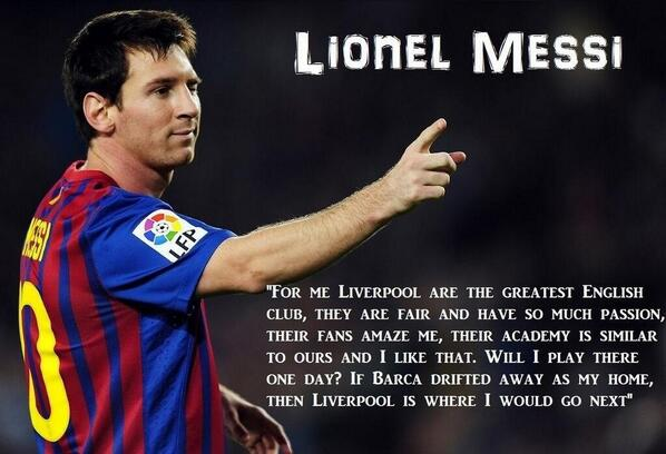 fcb and lfc stats on messi if barca drifted away as my