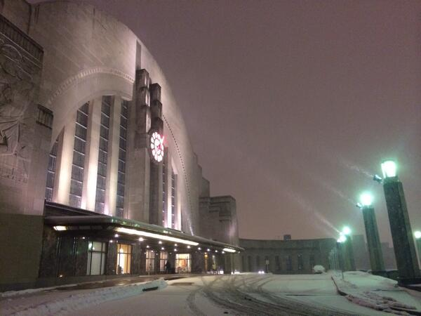 .@CincyMuseum looked otherworldly tonight. #nofilter http://t.co/lbmk9sXPX7