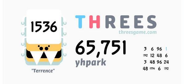I just scored 65,751 in @ThreesGame! http://t.co/J4ypWGwyMd http://t.co/BiZlLdncV3