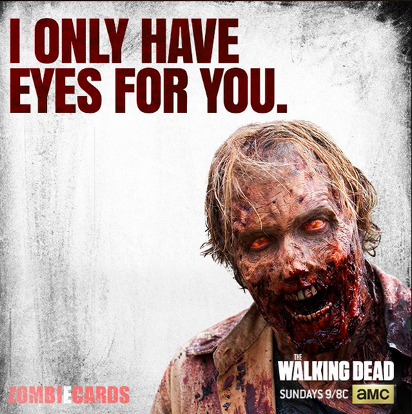 I love this! I'm so flattered @WalkingDead_AMC: you and no one else. xoxo, TWD http://t.co/YlHa0v3sOI""