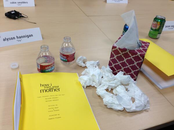 Umm...so this is how the last HIMYM Table Read went for me. #sorrytrees http://t.co/UApWvPbbOM