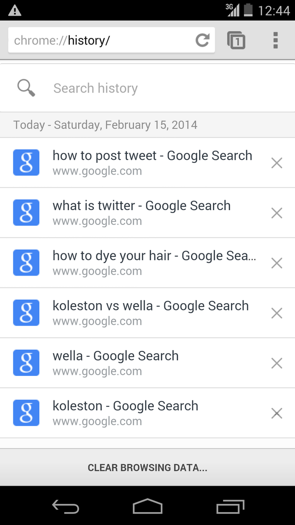 Boutros Harb's search history. http://t.co/sKt5MOpQ1x