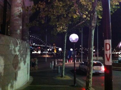 Last night I walked on the country where Bennelong once stood, when he was captured by Governor's orders in 1789. http://t.co/fvThZldDHT