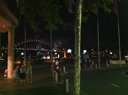 Much has changed since Bennelong's day. I was one of hundreds gathered around Sydney Cove on a warm summer's night. http://t.co/N01zbYeitb