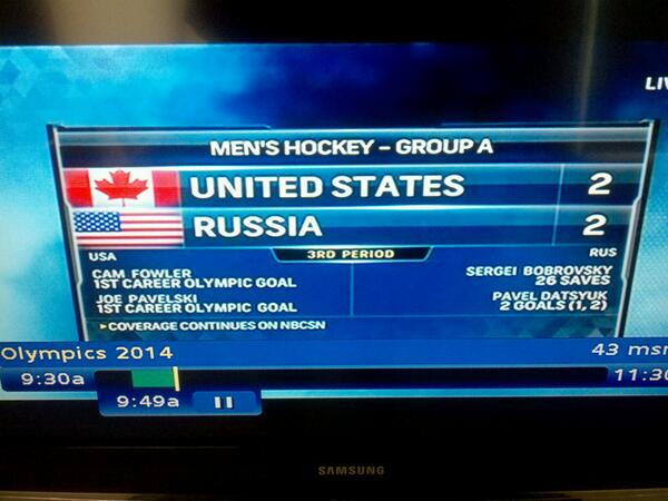 """oops RT @YoursAIdiot Drunk NBC intern: """"What about the flags? Eh..close enough."""" #USAvsRUS (pic via @Jeffrey_NotJeff) http://t.co/3bMXdy5zZb"""