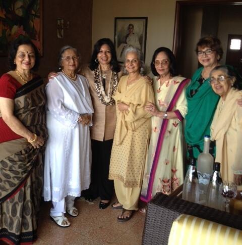 "Kiran Mazumdar Shaw on Twitter: ""With Rock Stars of the 60s Asha ..."
