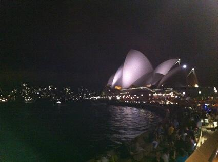 I could see the site where Bennelong 'of good stature, stoutly made' with a 'bold, intrepid countenance' once lived. http://t.co/PLpcR1qNF2