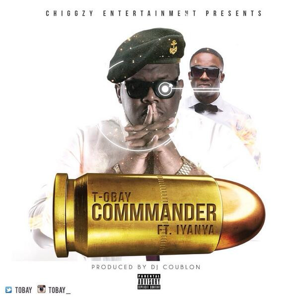 "#Commander by @Tobay ft @Iyanya out this monday!!!!!!!!!!!!! Pls RT"" http://t.co/Jo6yqvBe4r"