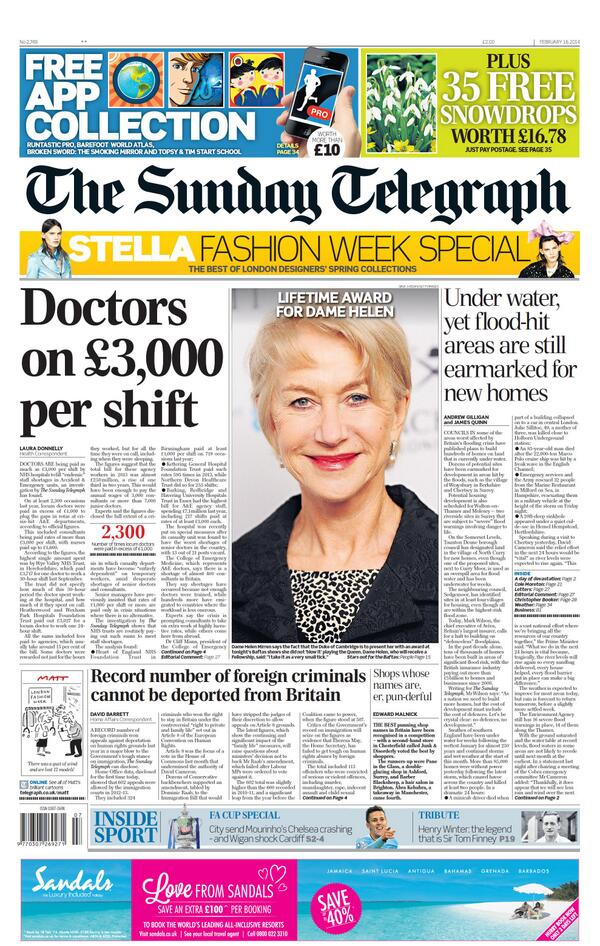 Fucking DOCTORS, making people well, the BASTARDS. http://t.co/YdUsmt1v8Z Oh wait, thats £100 p/h? So about the same as a emergency plumber?