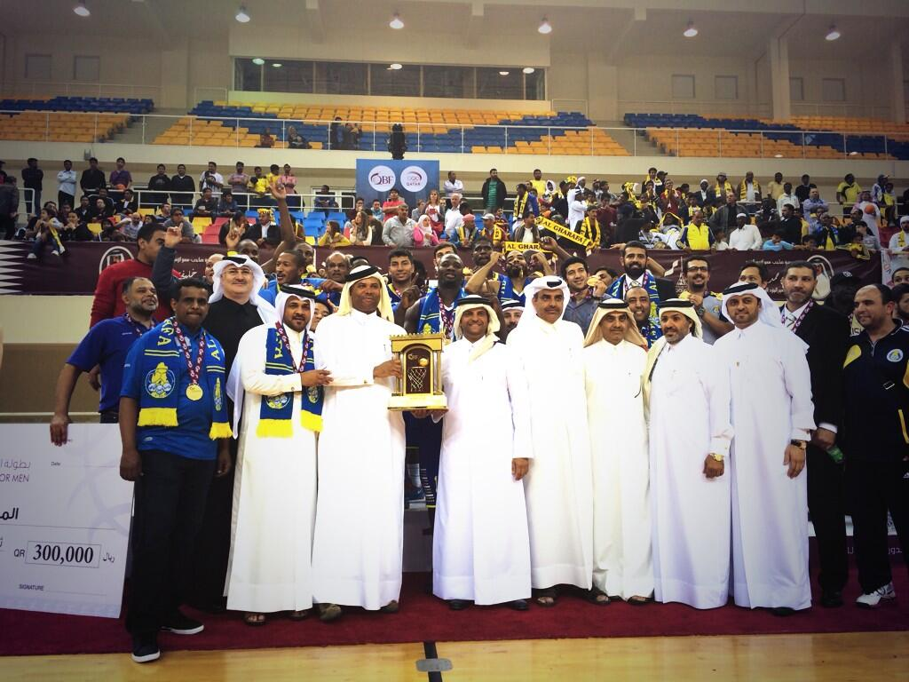 Al Gharaffa wins Qatar Basketball League Title