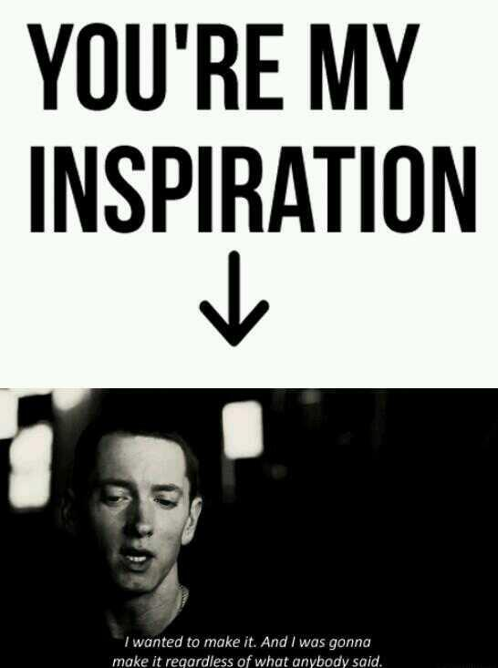 Eminem Quotes On Twitter Youre My Inspiration Eminem Httpt