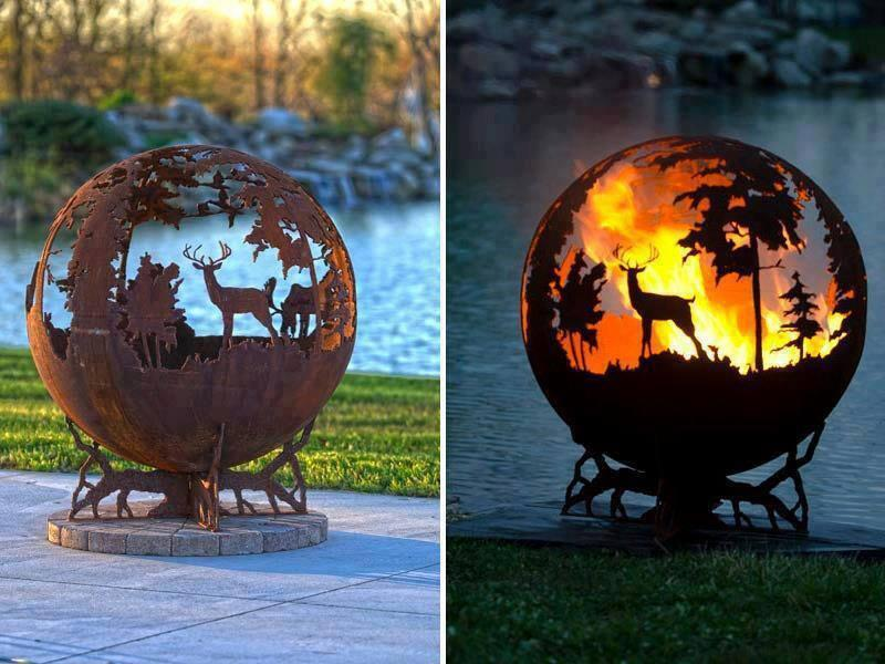 Twitter / zaibatsu: Unique fire pit by Melissa ...