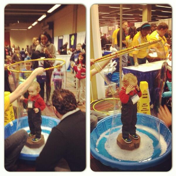 Keeping my baby in a bubble is no longer a joke! #AAASmtg #FamSciDays http://t.co/KLkKemSyzz