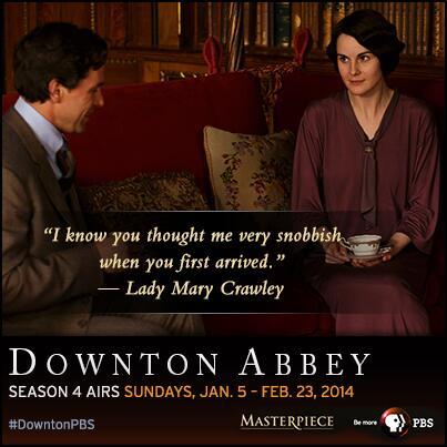 Thumbnail for Social Media Reactions to MASTERPIECE Downton Abbey Season 4, Episode 7