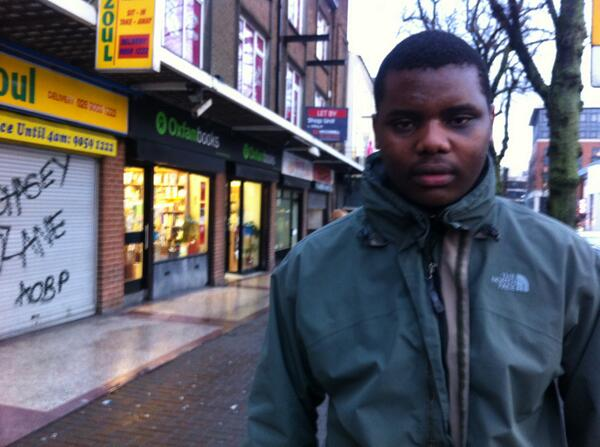 Stanley, 21, from Zimbabwe has had eggs thrown at him on the streets of Belfast because of him skin colour. P http://t.co/YjrpPLIOP6