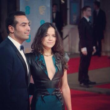 #RedCarpet arrivals at the #BAFTA's with my homegirl @Mrodofficial in #Burberry عند وصولنا إلى البافتا http://t.co/IlLlJ2SQYO