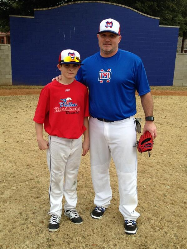 Twitter quot great time with baseball family today at father vs son game