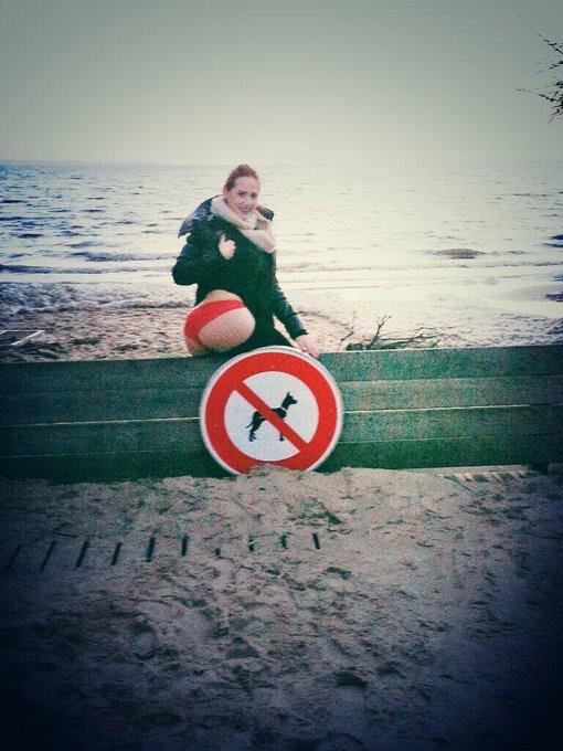A andernos les plages sont Interdites au les chiens mais pas pour les chiennes!!   sexy soirée à vous
