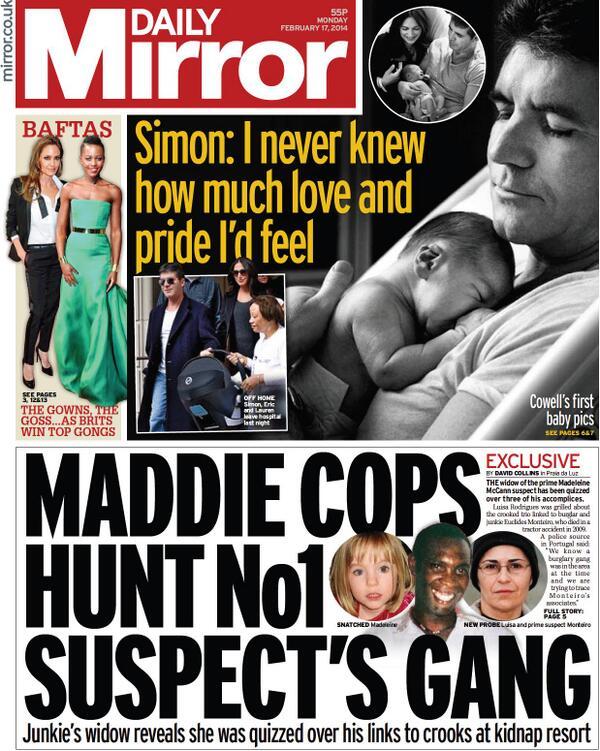 More again!!  MIRROR 17/2/14 -Maddie cops hunt no1 suspect's gang BgoTLAoCUAA-PBA
