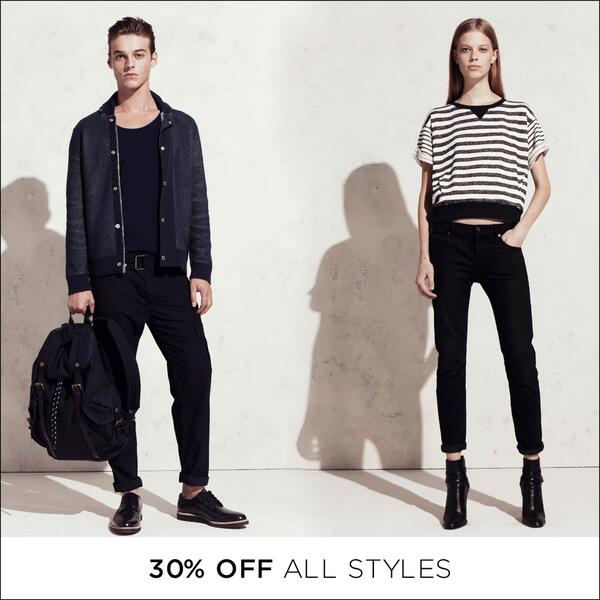 Take 30% off all styles in store and online: http://t.co/dYwtrrDM8u. http://t.co/uUarzBTOEq
