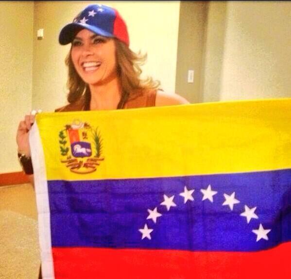 Venezuela tan querida. Los abrazo siempre. http://t.co/pKIhiwUo8N