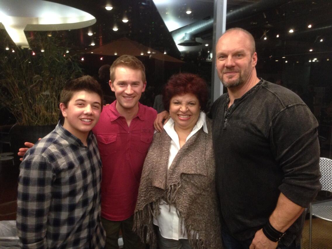 "Eric Allan Kramer on Twitter: ""My two sons and a Dabney ..."