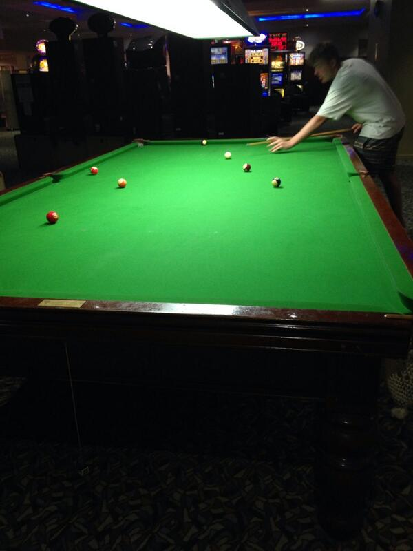 Mark On Twitter Just Playing On A Regulation Size Pool Table With - Normal pool table size