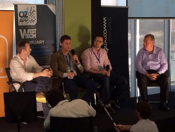 #OzApp panel on raising #startup money with @blackbirdvc @peggen of @QualcommVenture and @StuAC http://t.co/aOU1TtlfcL