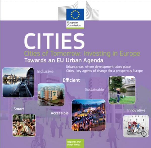 How to make #eucities of tomorrow places to really live? Conference 17-18/2, webstreamed:  http://t.co/0tPYX7sIJH http://t.co/OhAXlsqV36