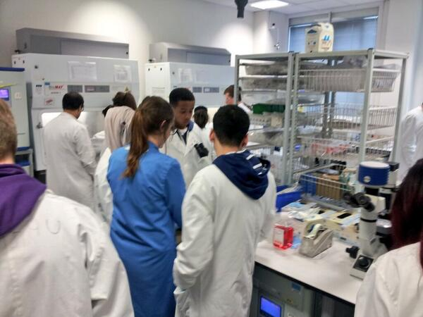 Our #BCISTARS are getting on nicely in tissue culture! #STEMLondon http://t.co/T2EtHUBUnx